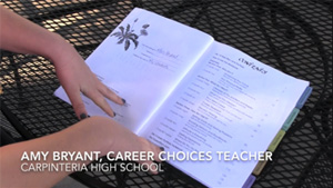 A Tip for Organizing your Teaching copy of the Career Choices Workbook