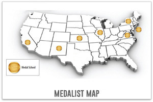 Medalist Map